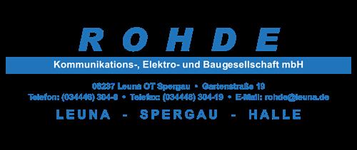 Rohde Kommunikations-, Elektro- und Baugesellschaft mbH
